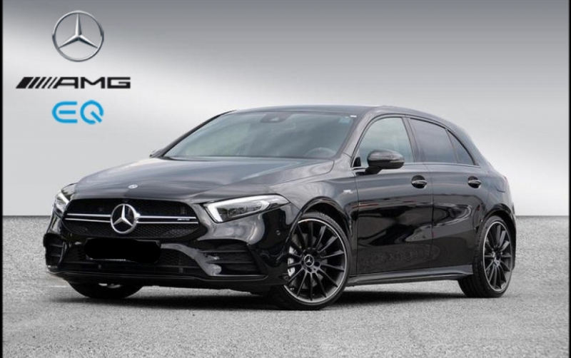 Mercedes-Benz CLASSE A BERLINE 35 AMG 306CH 4MATIC 7G-DCT SPEEDSHIFT AMG Essence NOIR Occasion à vendre