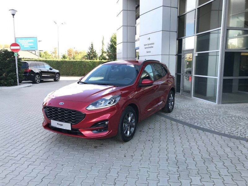 Ford KUGA 2.0 ECOBLUE 150CH MHEV ST-LINE Diesel ROUGE Neuf à vendre